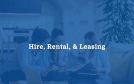 Hire, Rental, & Leasing Image