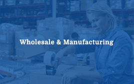 Wholesale & Manufacturing Image