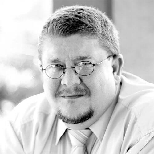Glenn Small PCS Black and White portrait