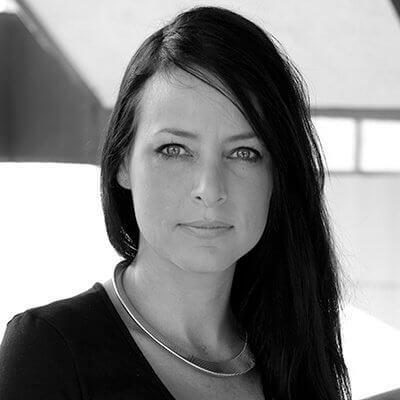 Sarah Allen PCS Black and White portrait